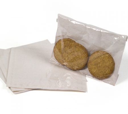 Film Front Bags with Cookies in