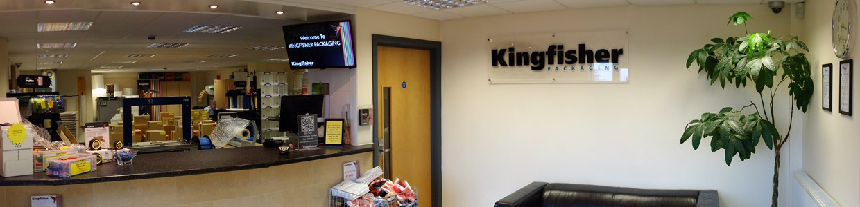 Kingfisher Showroom banner