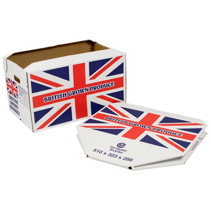 Custom UK Flag Printed Boxes