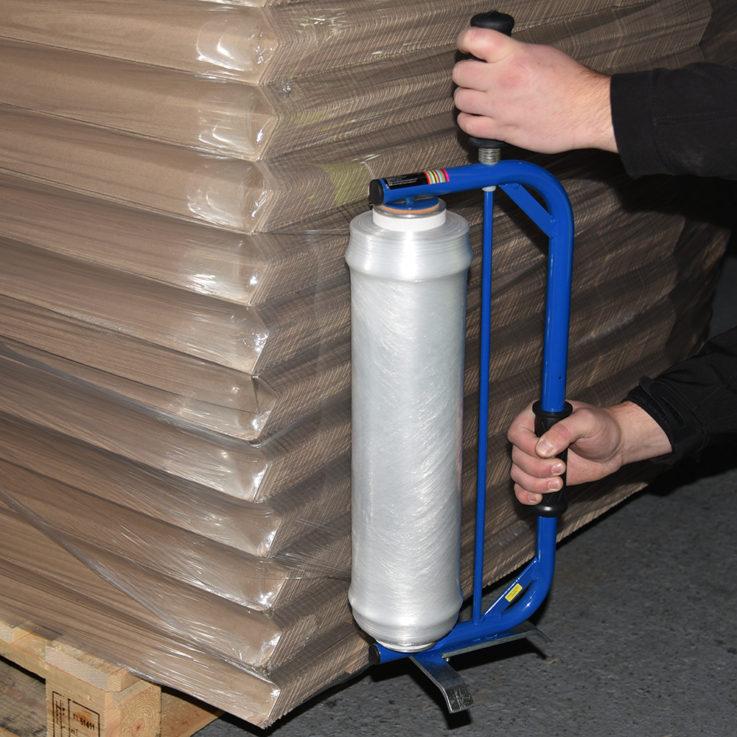 The Ergonomic Bow Pallet Wrap Dispenser 2
