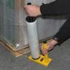 The Heavy Duty Steel Pallet Wrap Dispenser 2