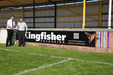 Tiverton Town Football Club Donation