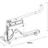 KC 100 Propak Corner Board Guillotine Spec