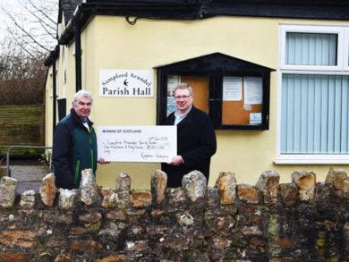 Village Hall Donation