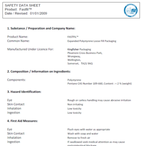 Fastfil Data Sheet