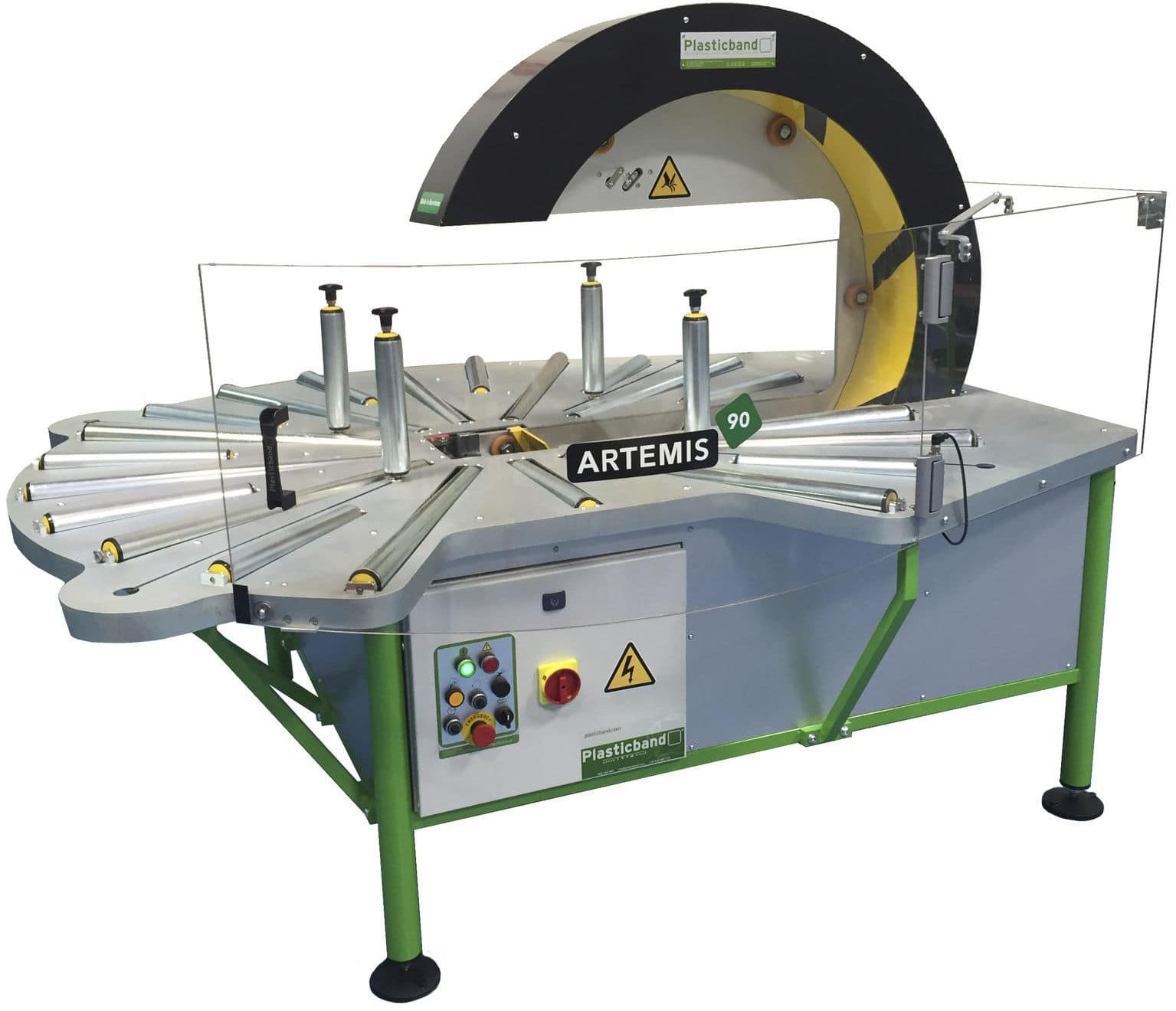 Artemis 90 Fully Auto Spiral Wrapping Machine