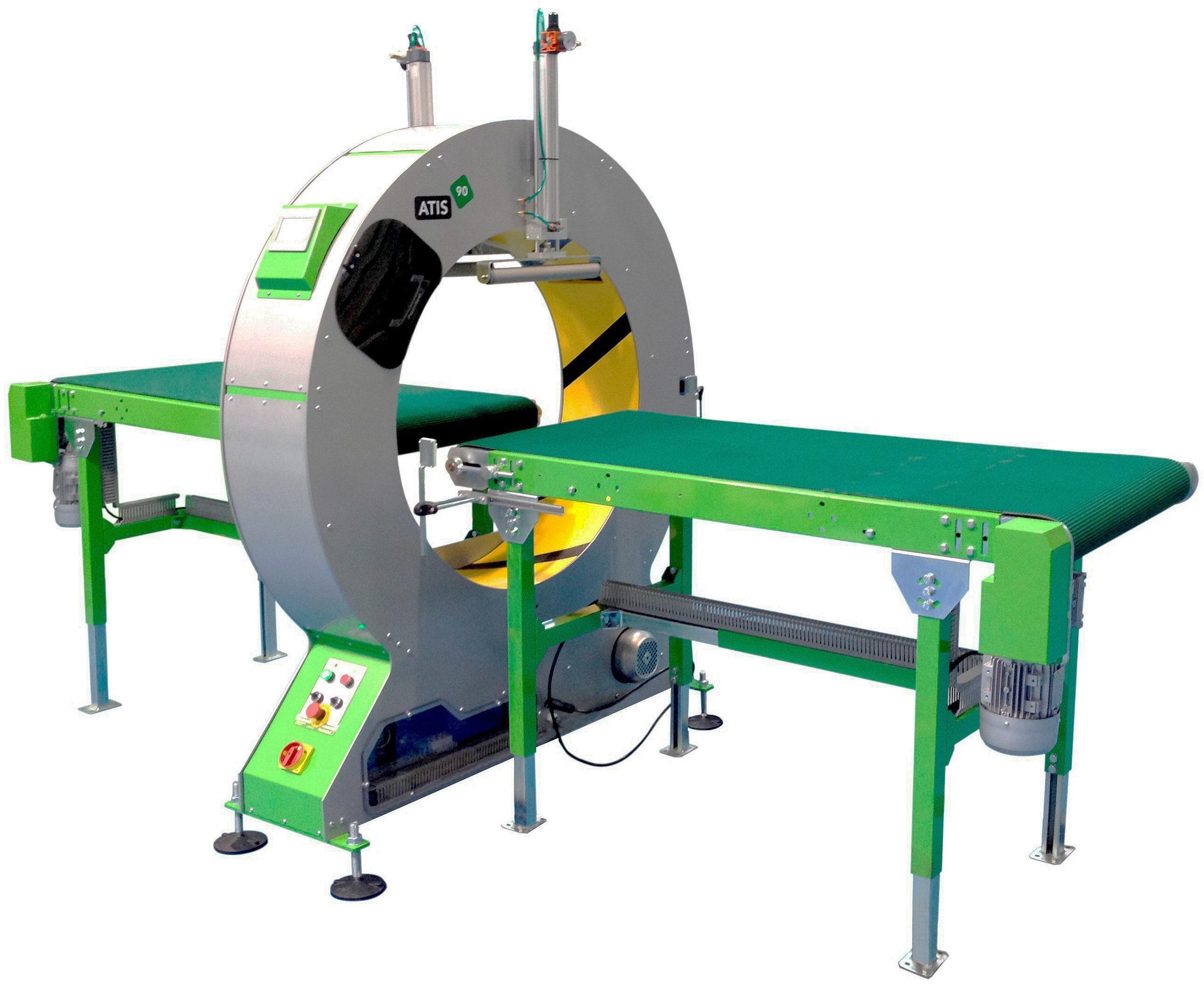 Atis 90 Spiral Wrapping Machine