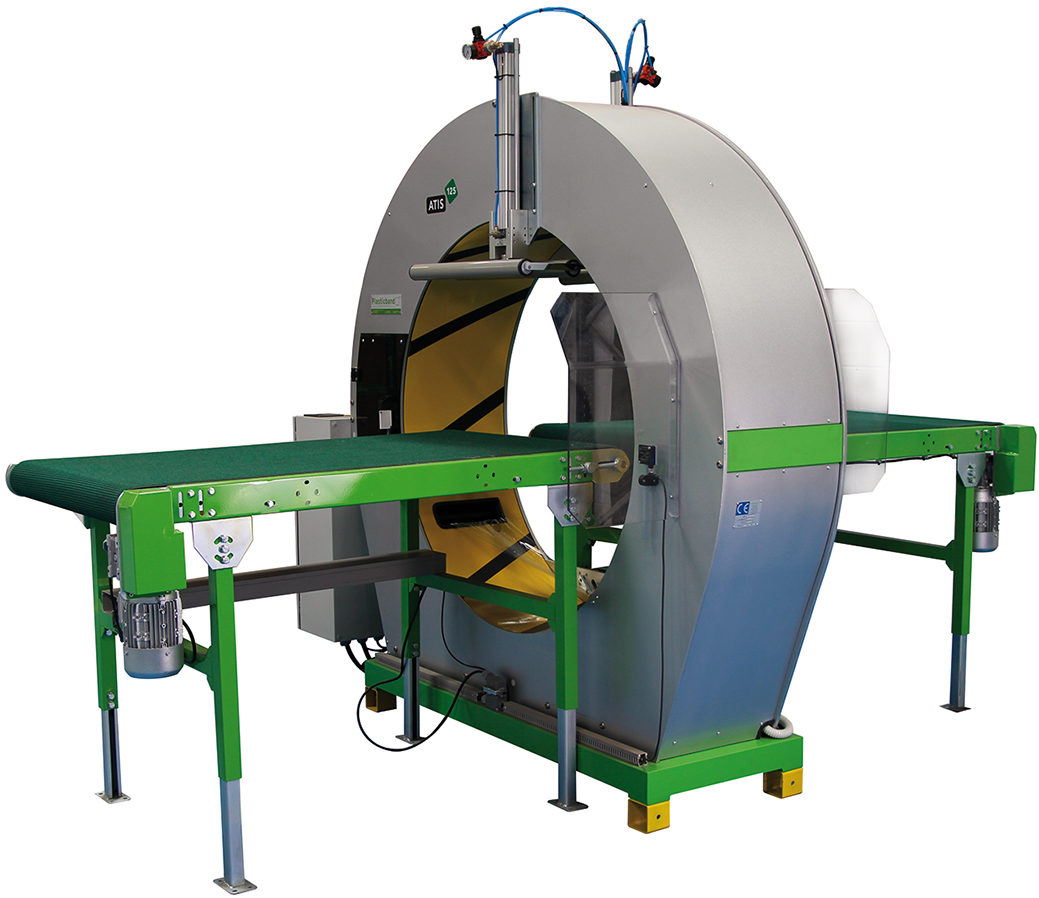 Atis 125 Spiral Wrapping Machine