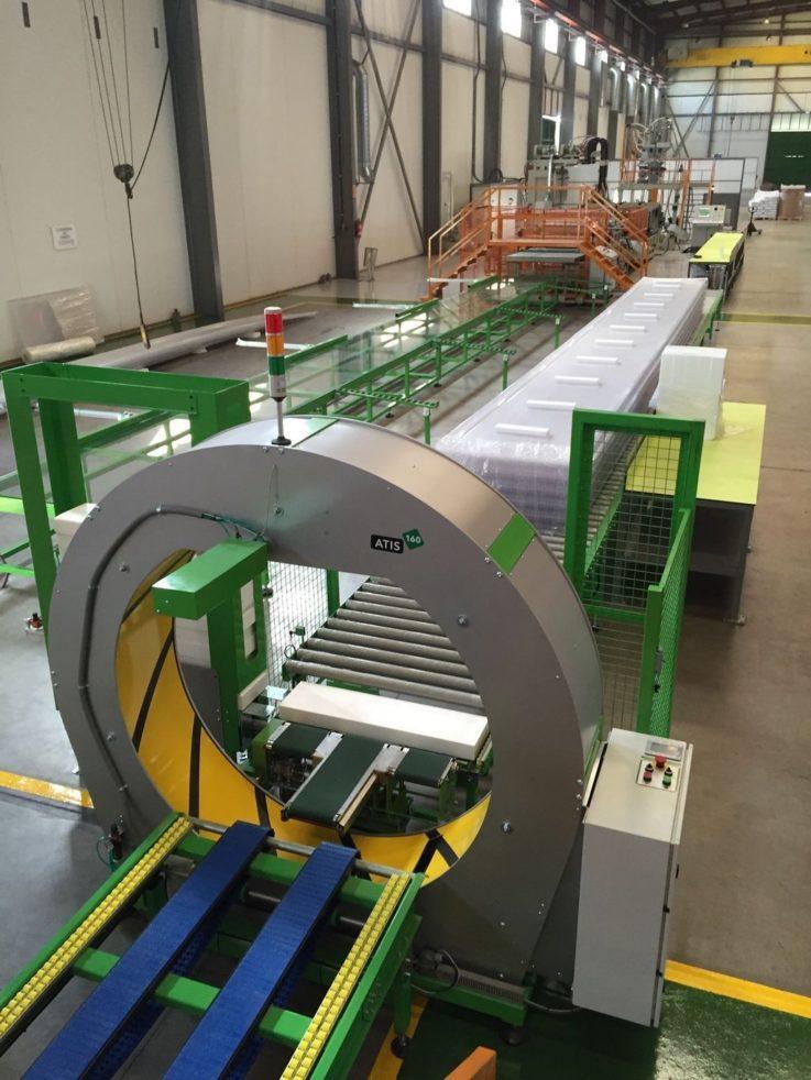 Atis 160 Orbital Wrapping Machine