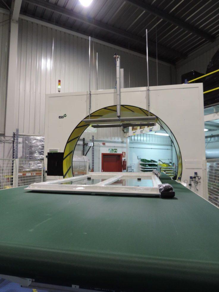 Atis 250 Orbital Wrapping Machine