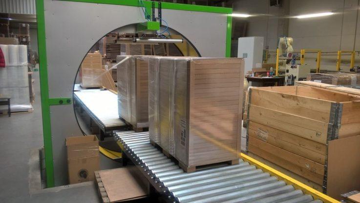 Atis 200 Orbital Wrapping Machine