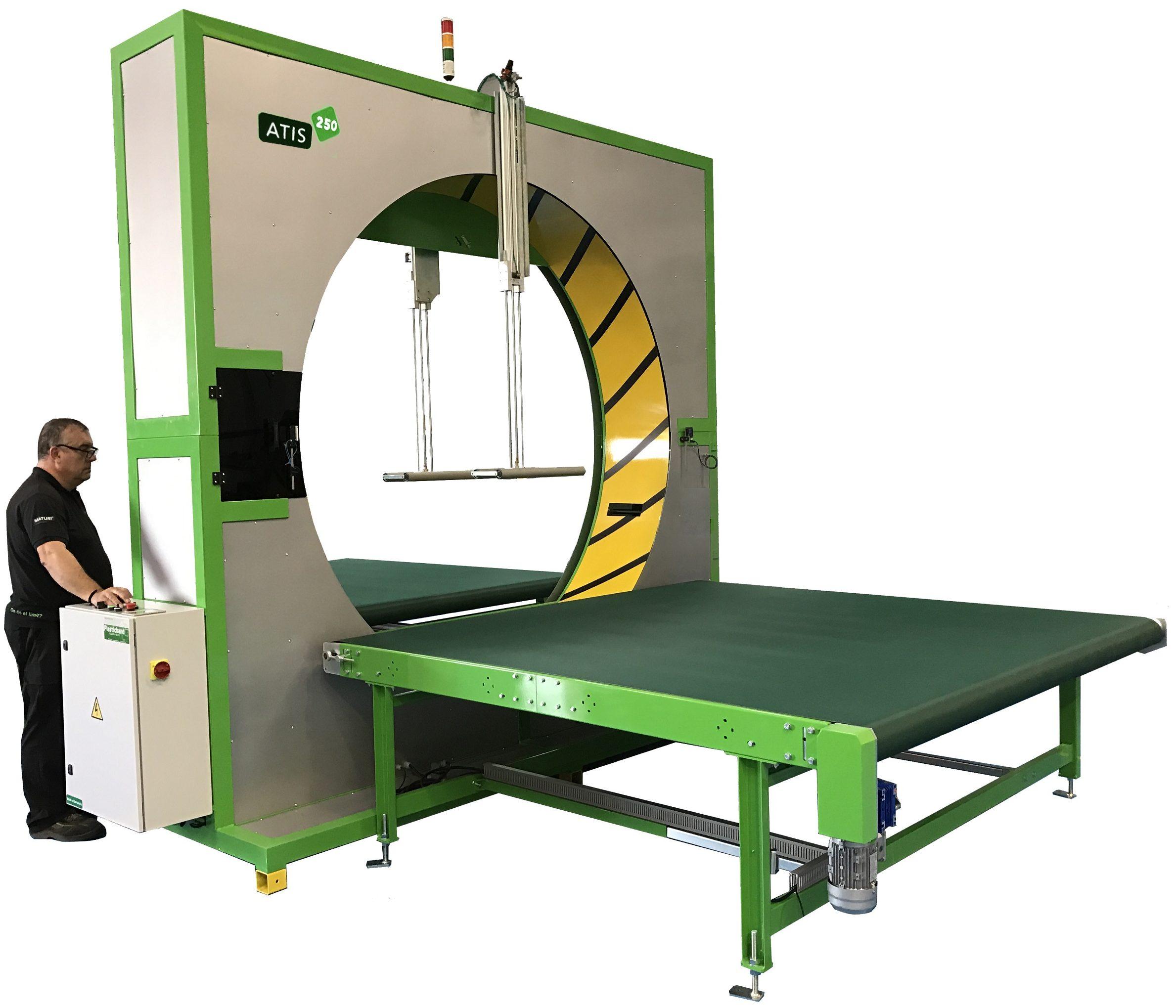 Atis 250 Spiral Wrapping Machine