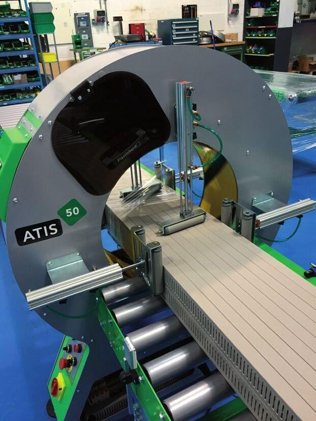 Atis 50 Orbital Wrapping Machine