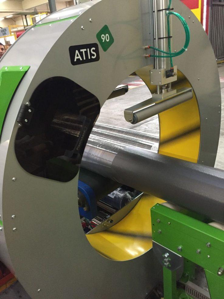 Atis 90 Orbital Wrapping Machine