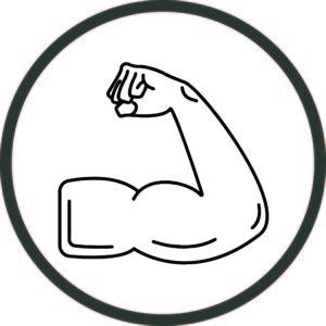 Bicep Fist Pump Image