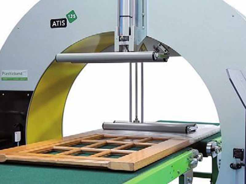 Atis fully automatic spiral wrapping machines