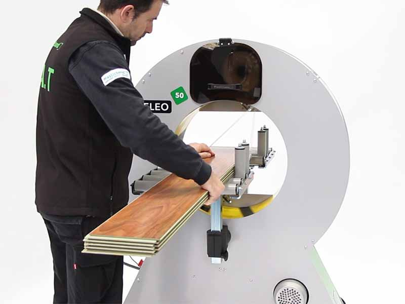 Neleo semi automatic spiral wrapping machines