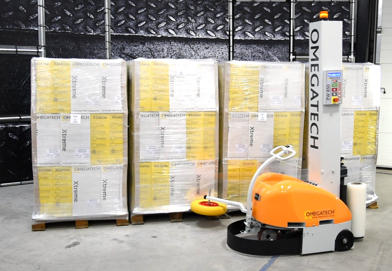 Robotic Pallet Wrapping Machine