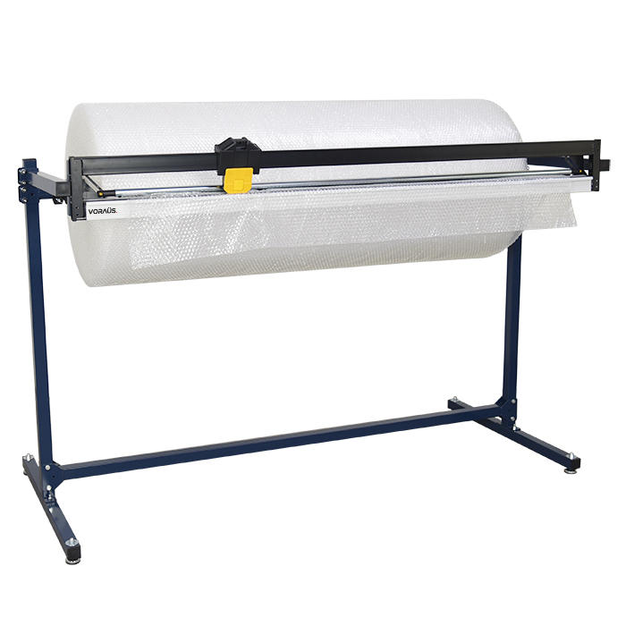 1500mm Single Roll Dispenser with Cutter for Bubble, Foam & Poly