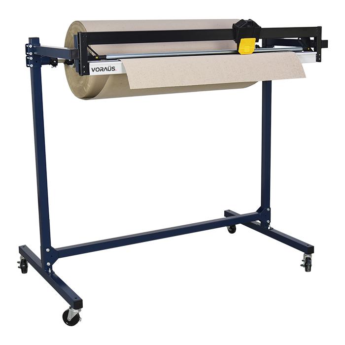 VORAÜS. Roll Dispenser Stand with Cutter for Paper & Cardboard - VOR30