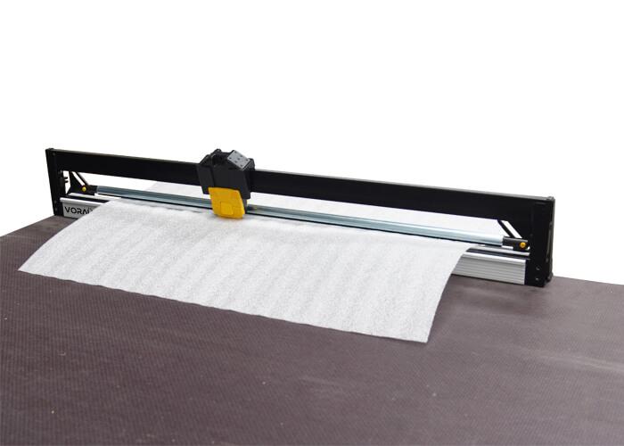 VORAÜS. Bench Mounted Cutter for Foam, Bubble & Poly - VOR50