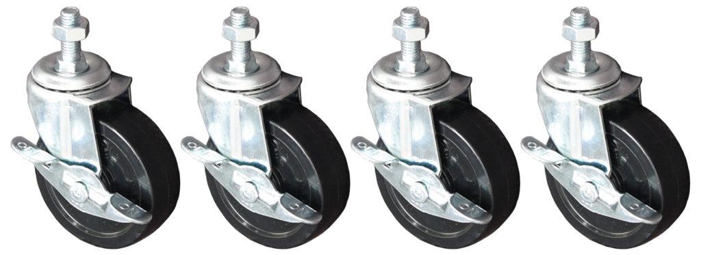 Castors for Roll Dispenser Stands - VOR80