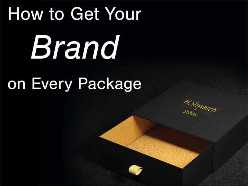 Kingfisher Packaging - Put your Brand on every Package