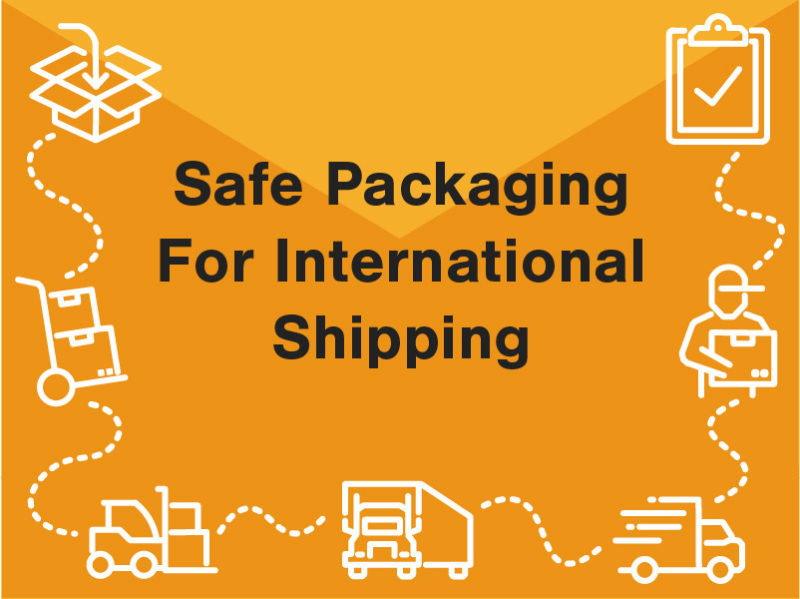Safe packaging for international shipping 2