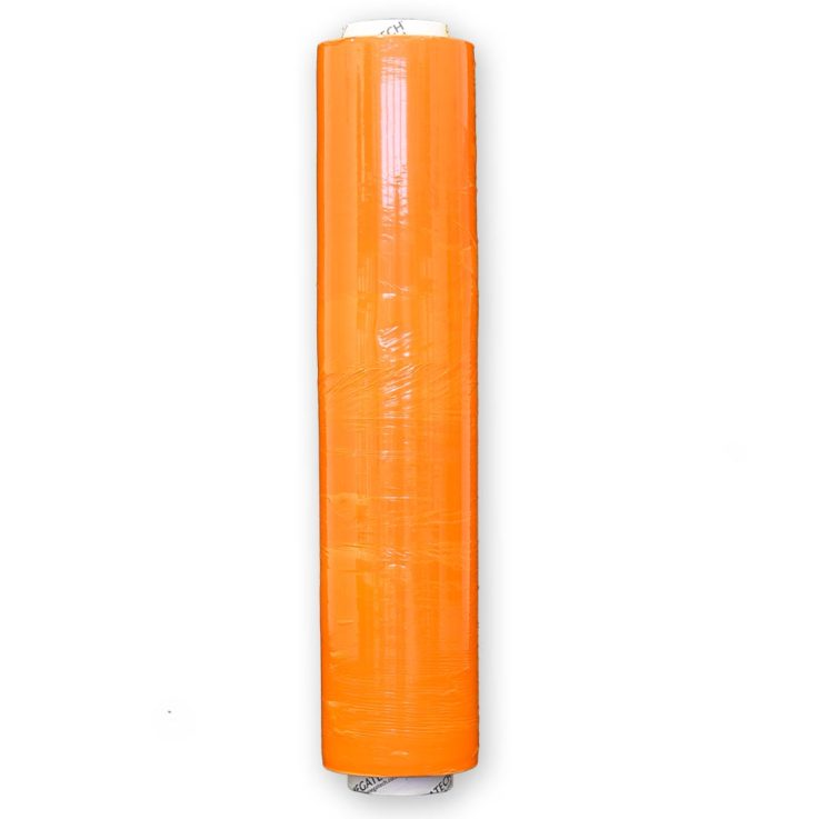 Xtreme 25 Identi-Film Coloured Pallet Wrap Orange