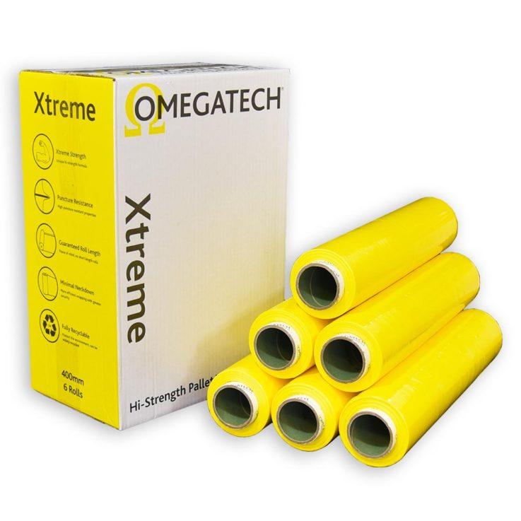 Xtreme 25 Identi-Film Coloured Pallet Wrap Yellow