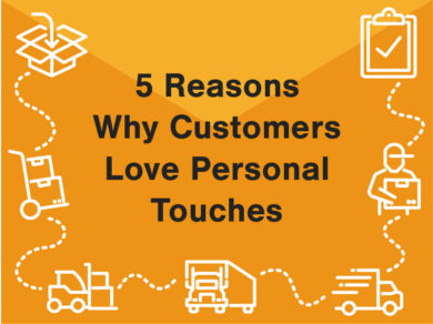5 reasons why customers love personal touches
