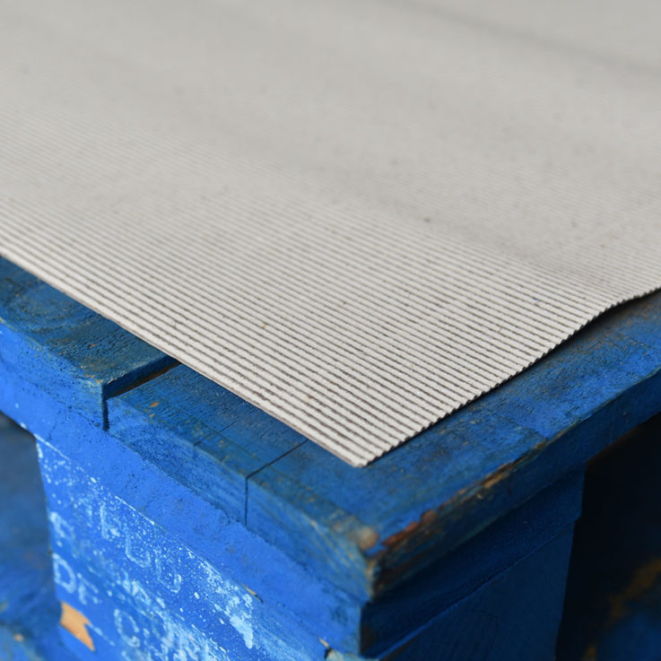 Actus Premium Protective Cardboard Layer Board on pallet