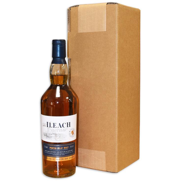 Box with Scotch Whisky Bottle