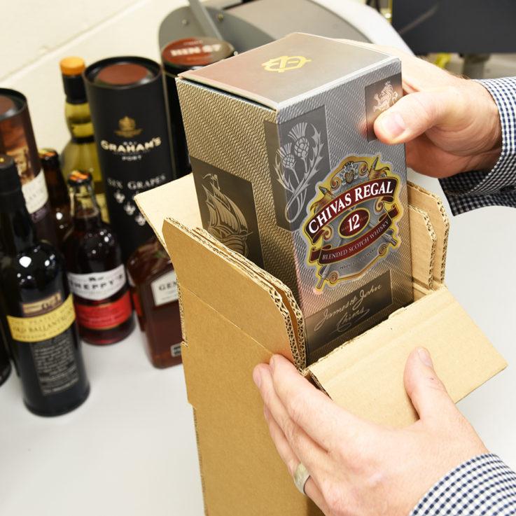 Actuspack Bottle Pack - Packing Chivas Regal in Bottle Pack