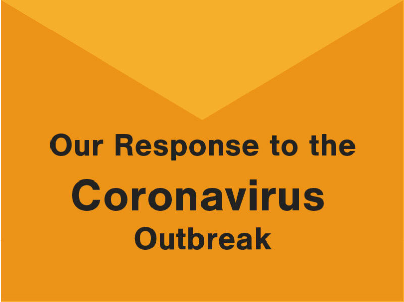 Our Response to the Coronavirus Outbreak
