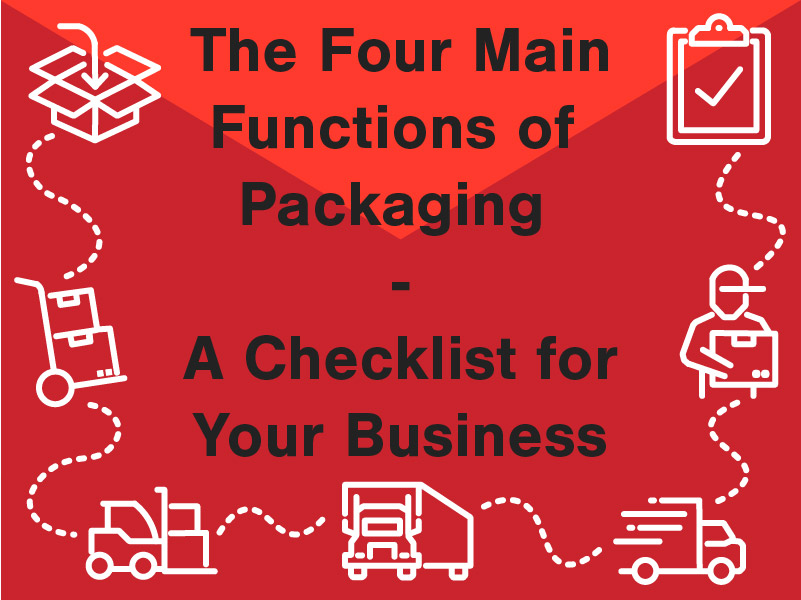 The Four Main Functions of Packaging - A Checklist for Your Business
